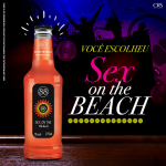 SEX ON THE BEACH SERÁ O NOVO SABOR DA LINHA DE DRINKS PRONTOS DA CRS BRANDS